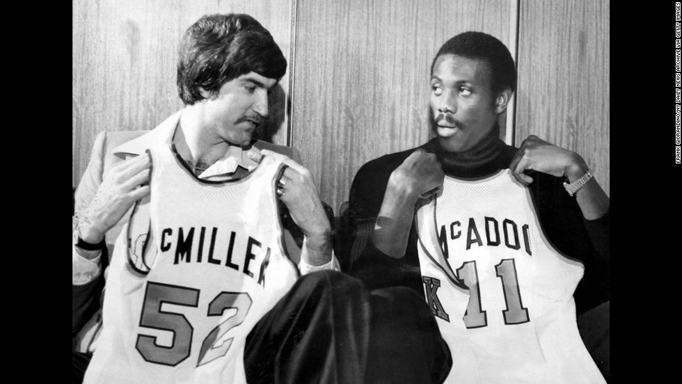 Tom McMillen served as Maryland's 4th District representative for six years after a 12-year career playing professional basketball in the NBA. During his career McMillen would play for the Buffalo Braves, New York Knicks, Atlanta Hawks and Washington Bullets before his retirement in 1986.