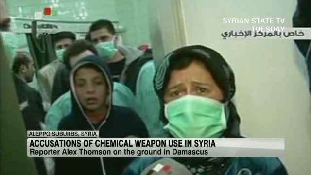 Were chemical weapons used in Syria?