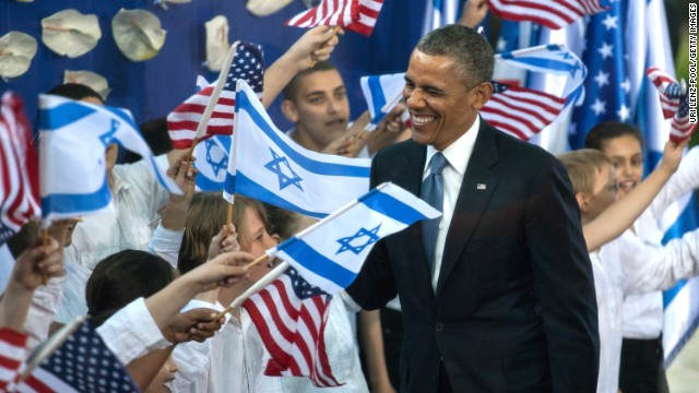 Obama's trip to Israel: Day 1
