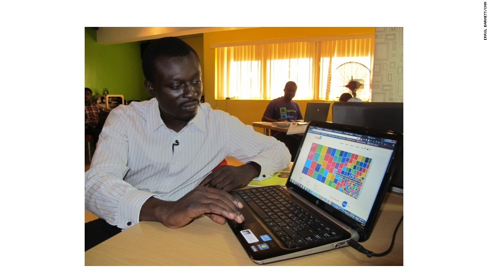 Oluseun Onigbinde worked at CC-Hub to create the BudgIT platform, which give Nigerians access to public data and government budget figures.