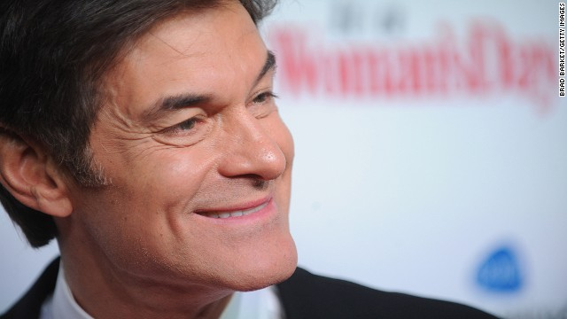 "NEW YORK, NY - FEBRUARY 15:  Dr. Oz attends the 2012 ""Woman's Day"" Red Dress Awards at Jazz at Lincoln Center on February 15, 2012 in New York City.  (Photo by Brad Barket/Getty Images)"