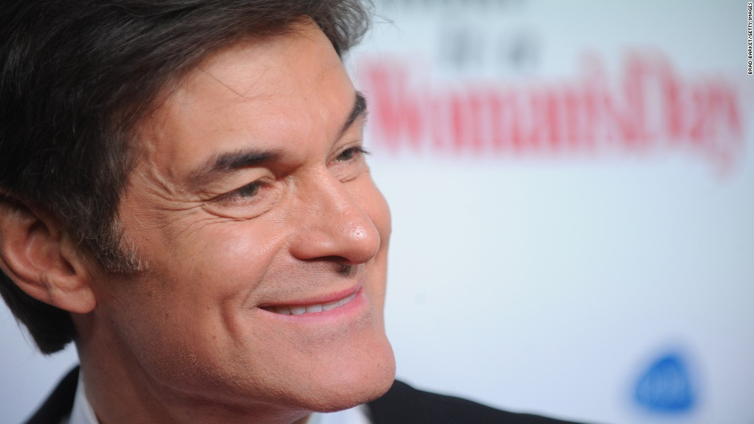 Dr. Oz helped save a man who collapsed at a New York City-area airport