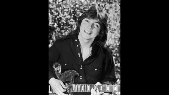 """Singer and actor David Cassidy, seen here circa 1975, was a heartthrob both on and off the small screen. Playing Keith Partridge, the dreamy eldest brother on """"The Partridge Family,"""" soon brought Cassidy music fame in real life. Surely some fans still have this infamous 1972 Rolling Stone cover, on which Cassidy posed nude."""