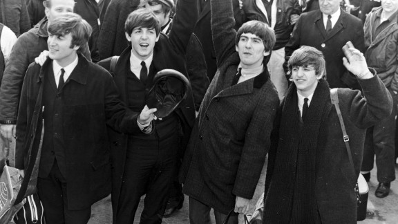 """As described by Rolling Stone, the teenaged fervor for this landmark British band was a """"level of ... mania the country had never before seen -- even at the height of Elvis Presley."""" When Beatlemania hit the U.S. in 1964, the screaming fans would drown out the music at Beatles shows ... and some young women, the magazine notes, would even wet their pants with excitement when the band"""