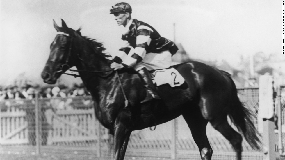 Before Black Caviar stormed Britain's Royal Ascot, that other great Australian champion race horse, Phar Lap, traveled to the U.S. by ship to compete. It would also be the place of his death, after he was found poisoned.
