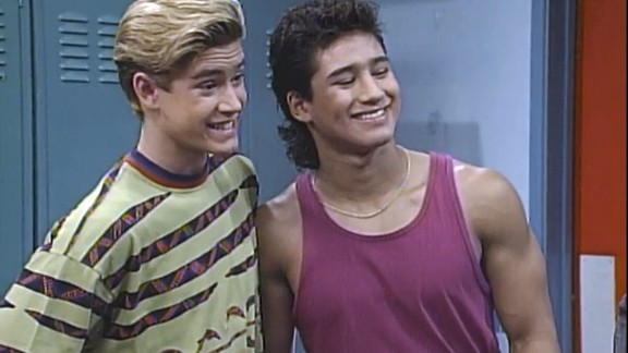 """Mark-Paul Gosselaar and Mario Lopez had everyone wishing they could enroll at the fictional Bayside High thanks to their roles on """"Saved by the Bell."""" Gosselaar exuded charm and wit as Zack Morris, while Lopez"""