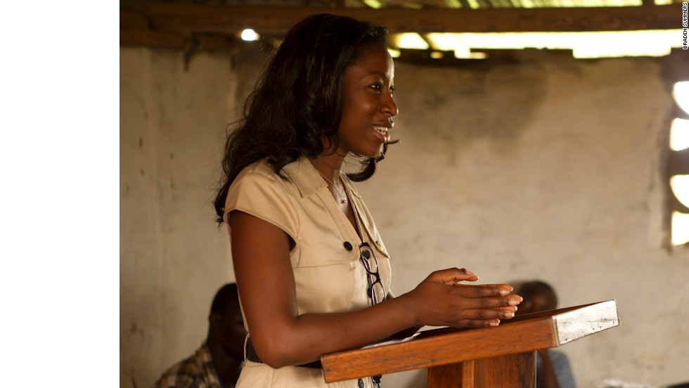 Saran Kaba Jones is the founder of FACE Africa, a group working to improve access to clean water in rural Liberia.