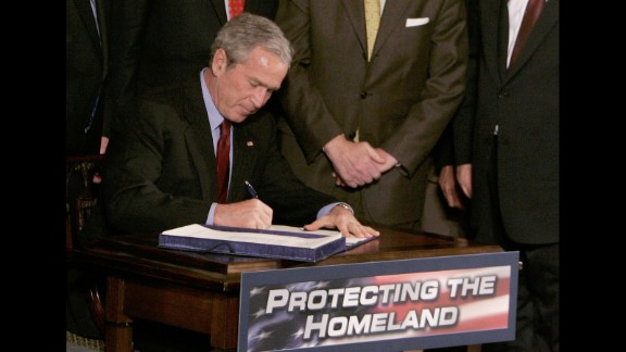 In 2005, President George W. Bush signed the U.S.A. Partiot and Terrorism Prevention Reauthorization Act, originally passed in 2001 in the House by a vote of 357-66 and 98-1 in the Senate.