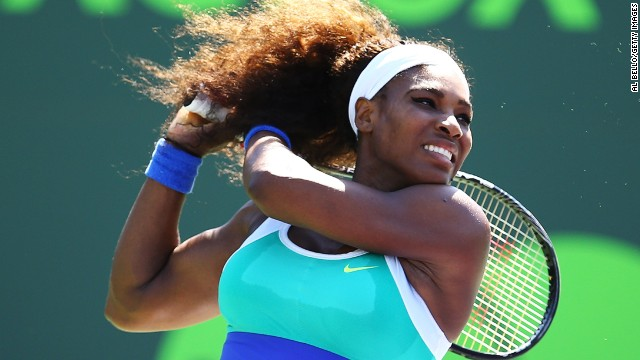 serena williams victorious on return in miami cnn