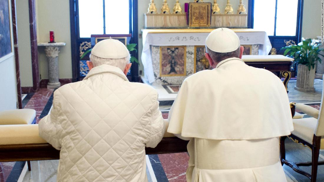 The silent Popes: Why Francis and Benedict won't answer the accusations dividing their church