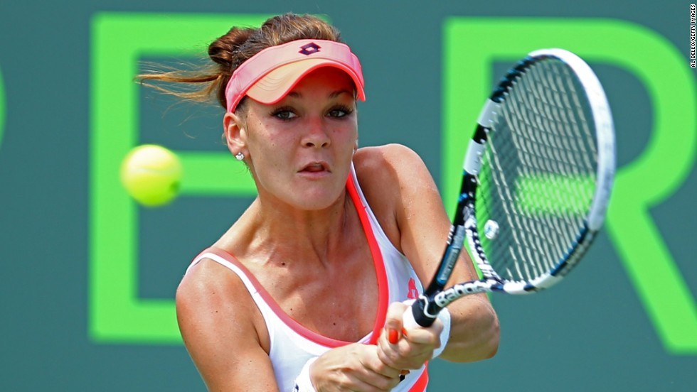 Agnieszka Radwanska edged through to the fourth round after seeing off Magadalena Rybarikova in three sets. Radwanska, the defending champion, won the first set 7-5 before losing the second 6-2.  But the Pole, ranked fourth in the world, hit back to take the decider 6-3. She will face Sloane Stephens in the next round.