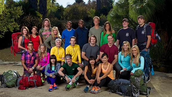 "Outstanding Reality-Competition Program nominations went to ""The Amazing Race"" (pictured), ""Dancing with the Stars"", ""Project Runway"", ""So You Think You Can Dance,"" ""Top Chef"" and ""The Voice."""