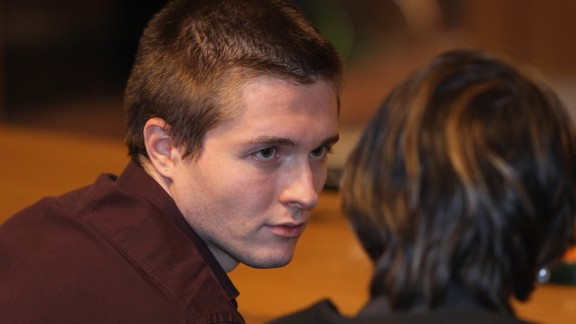 Sollecito, Knox's boyfriend at the time of the murder, was convicted in December 2009 with Knox and released when their cases were overturned. Prosecutors testified that police scientists found Sollecito's genetic material on a bra clasp of Kercher's found in her room, while his defense claimed there wasn't enough DNA for a positive ID.