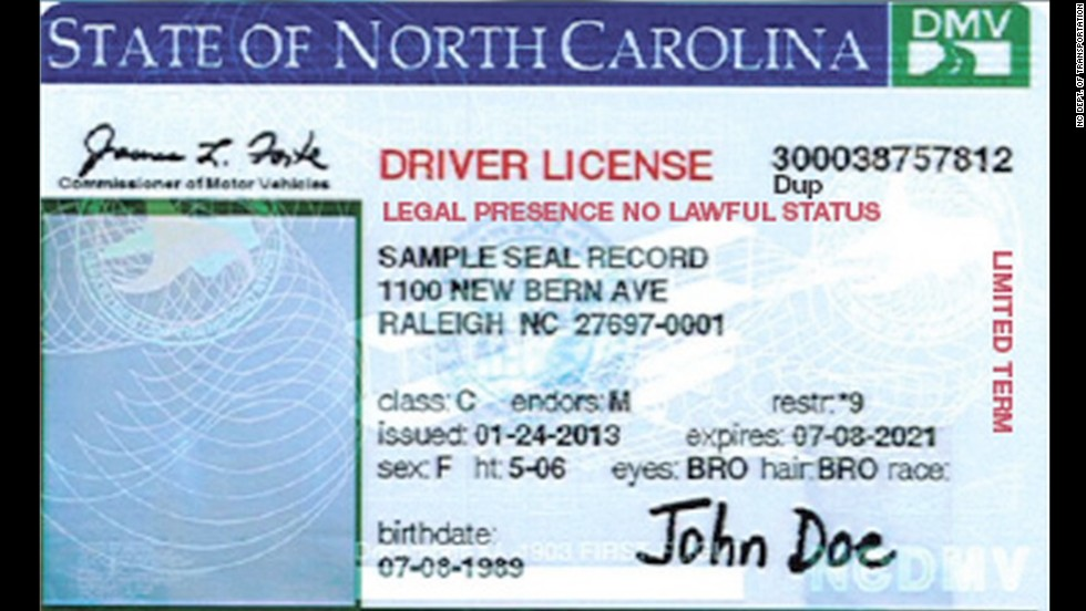 Nc dept motor vehicles driver license vehicle ideas for Nc division of motor vehicles driving log