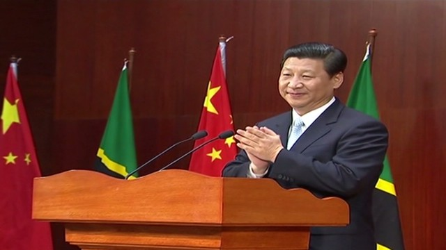 Chinese president tours Africa