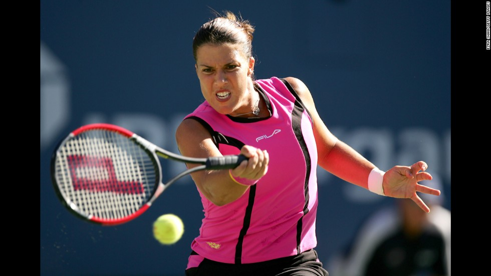 Jennifer Capriati won her first professional tennis match at age 13 in March 1990 and her first tournament title in Puerto Rico later that year. She then won gold at the 1992 Olympics in Barcelona, Spain. But a year later she had been arrested for shoplifting and marijuana possession. Capriati completed a stunning comeback in 2001, winning back-to-back Grand Slam titles in the Australian and French opens.