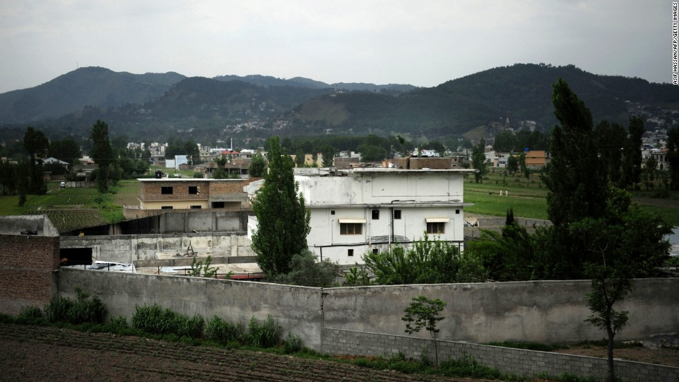 A general view of the compound in Abbottabad, Pakistan, is seen on May 5, 2011.