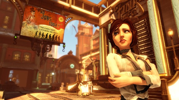 """""""Bioshock Infinite"""" has created a character in Elizabeth who makes players truly care about what happens to her."""