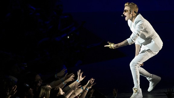 Bieber ticked off his fans in March 2013 after he showed up a reported two hours late to a concert at London's O2 Arena. He disputed that in a tweet, however, saying he was only 40 minutes behind schedule.
