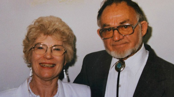 Witnesses told CNN that Stoddard, a retired construction worker, tried to shield his wife, Mavy, during the incident. They said he was shot in the head and fell onto his wife. She was shot three times in her legs but is expected to make a full recovery.