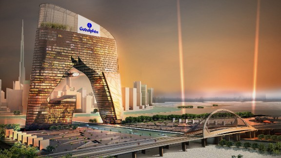 Plans are under way for Meydan metropolis retail center, featuring a 40-storey horse-shaped tower.