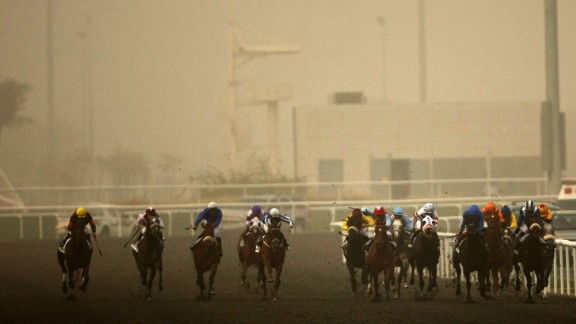 """The extreme Gulf heat, up to 120 degrees Fahrenheit (48.9 degrees Celsius) at the height of summer, make breeding and racing thoroughbreds a difficult task. """"In terms of racing, we have a short lifespan -- from the start of November to end of March,"""" said Dubai World Cup chief executive, Frank Gabriel."""