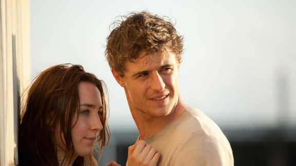 "Saoirse Ronan stars as Melanie Stryder and Max Irons stars as Jared Howe in ""The Host."""