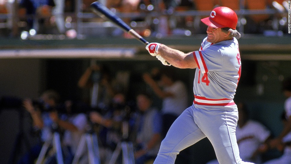 Pete Rose had a 44-game hittign streak in 1978, still short of Joe DiMaggio's 56-game record.