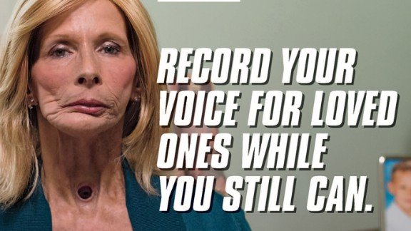 Terrie, who had her  larynx removed after having oral and throat cancers, appears in the CDC's new anti-smoking campaign.