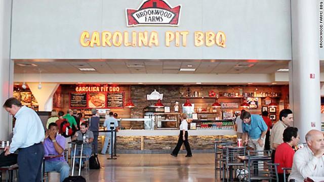 Best food option charlotte airport