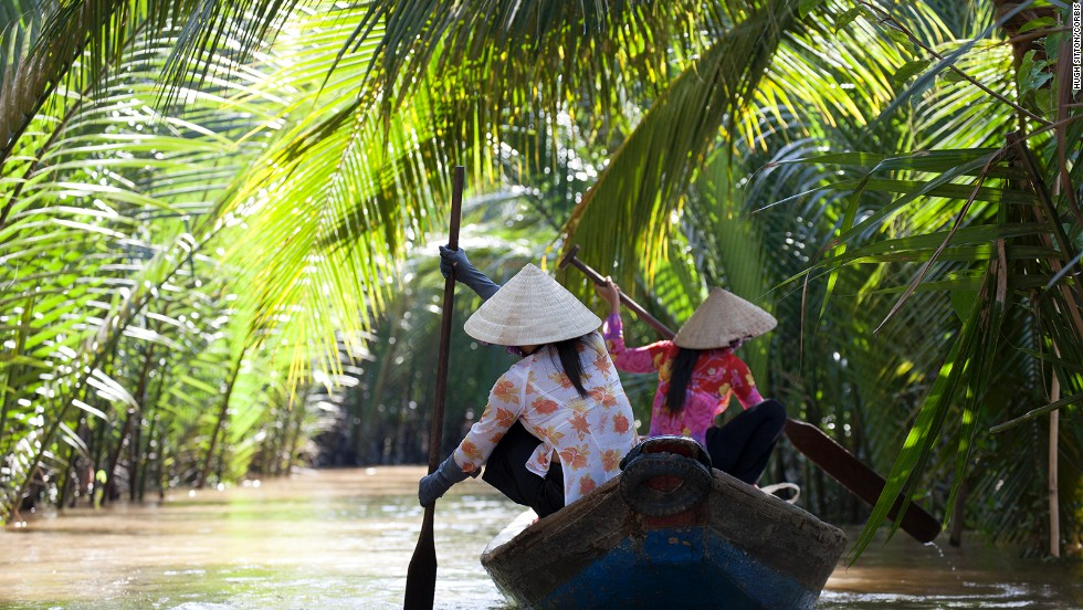 The Mekong Delta, in Vietnam, is home to a number of sites of international importance under the Convention on Wetlands.