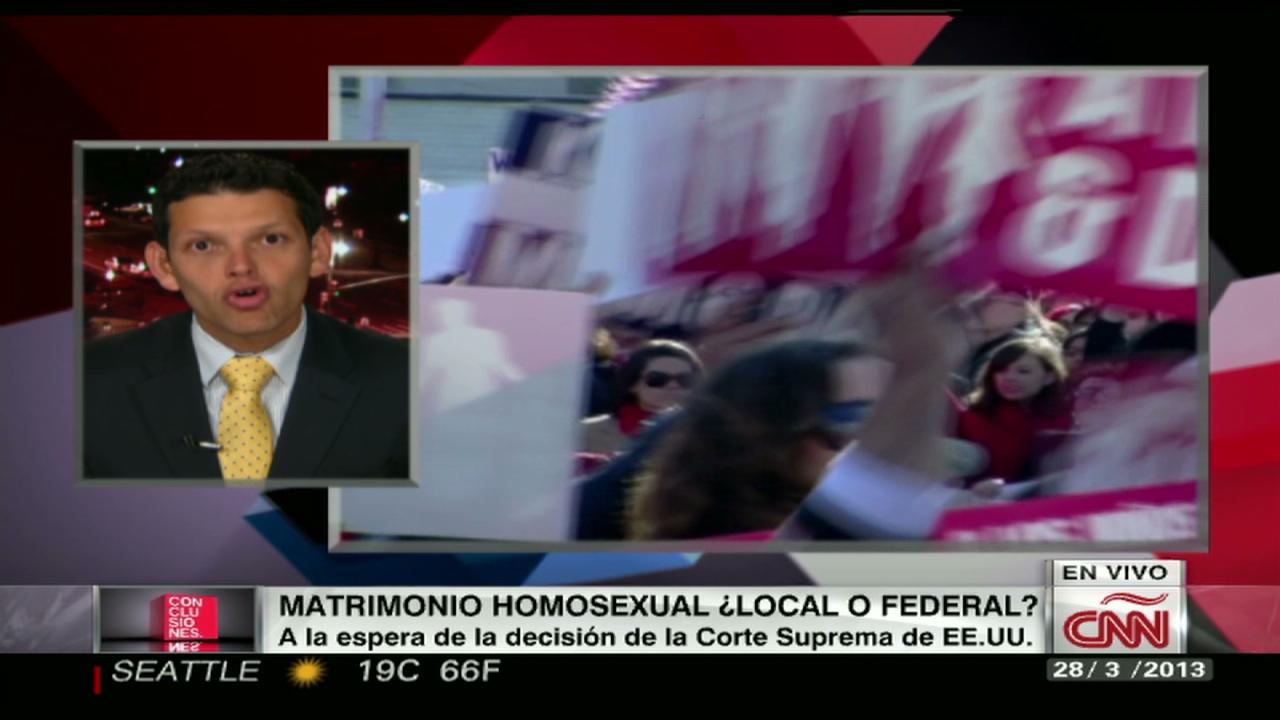Debate matrimonio homosexual video
