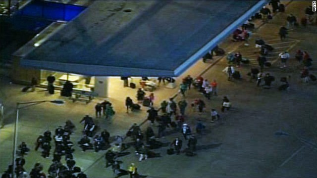 Passengers at Detroit Metropolitan Airport's north terminal were evacuated for about two hours early Monday.