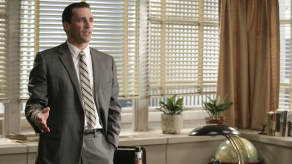 """Jon Hamm stars as Don Draper, an ad agency creative director, in the first season of """"Mad Men,"""" set in the year 1960."""