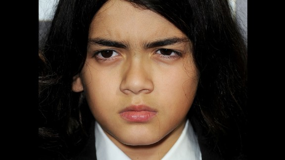 Blanket Jackson: Although AEG Live asked the judge to order Blanket, 11, to sit for a deposition, and he is one of the four plaintiffs suing them, Michael