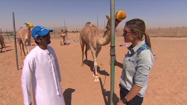 From camel racing to prized jockey