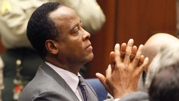 Dr. Conrad Murray: He was Michael Jackson's personal physician in the two months before his death, giving him nightly infusions of the surgical anesthetic that the coroner ruled led to his death. Murray, who is appealing his involuntary manslaughter conviction, has sworn that he would invoke his Fifth Amendment protection from self-incrimination and refused to testify in the civil trial. There is a chance that Murray will be brought into court from jail to testify outside the presence of the jury to allow the judge to determine if he would be ordered to testify.