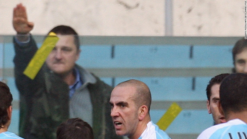 "Di Canio was a member of Lazio's notorious ""Irriducibili"" right-wing fan group before he became a successful player. This season the Italian club has been charged four times for racially offensive behavior by its supporters."