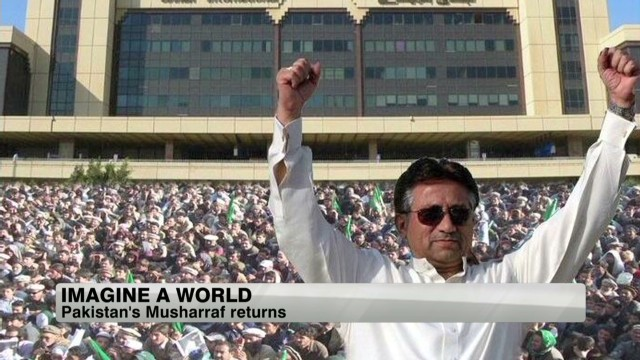 Pervez Musharraf flexes Twitter muscle