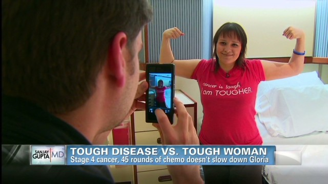 Tough disease vs. tough woman