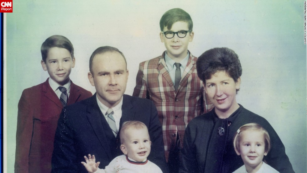 "<a href=""http://ireport.cnn.com/docs/DOC-948132"">Cynthia Carr Falardeau</a> says this family photo from 1969 represents ""a time of innocence."""