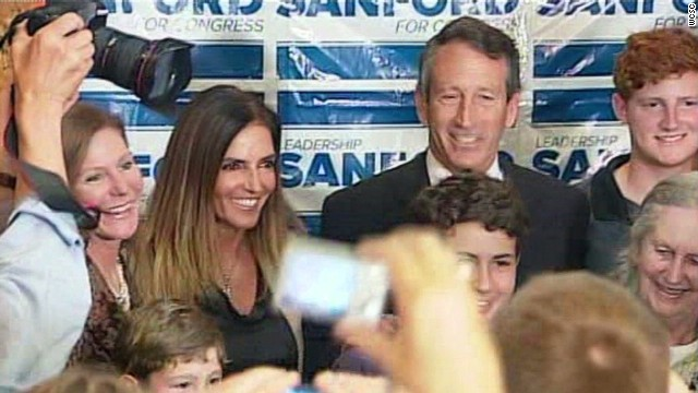 Ex-mistress stands by Mark Sanford