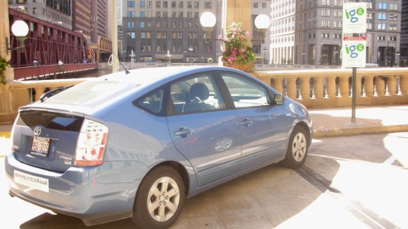 I-GO car-sharing service members reserve vehicles online for as little as 30 minutes or as long as one day, paying $10 or less per hour.