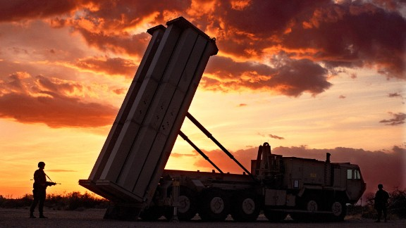 The Pentagon again postponed a key test of its troubled 'THAAD'''' anti-missile defense rocket, seen this file photo, due to a commercial power failure, the Defense Department said. (photo by Lockheed Martin)