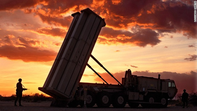 The defense system includes missiles, a truck-mounted launcher and radar.