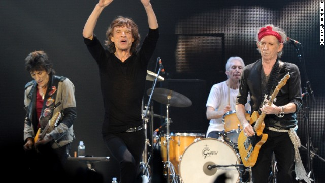 The Rolling Stones have been performing together for more than five decades.