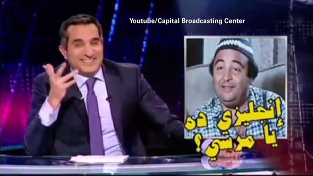 'Egypt's Jon Stewart' interrogated