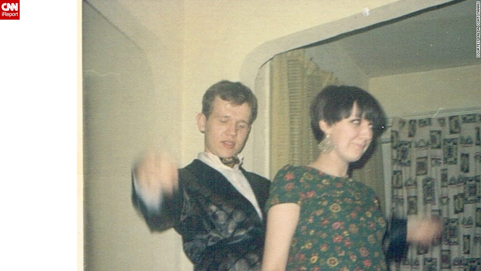 "<a href=""http://ireport.cnn.com/docs/DOC-949973"">Milda Contoyannis</a> and her friend show off their dance moves at a house party in 1967. She wore her favorite minidress, and her friend wore a jacket and an ascot tie. ""Nothing compares to the '60s,"" Contoyannis says. ""You had to be there when it was happening."""
