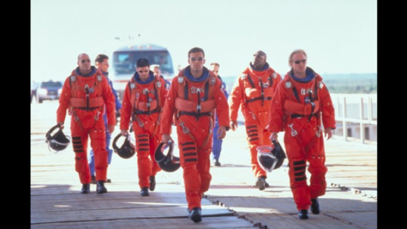 """""""The movie is an assault on the eyes, the ears, the brain, common sense and the human desire to be entertained,"""" Ebert wrote about the 1998 action/adventure film, """"Armageddon."""" """"No matter what they"""