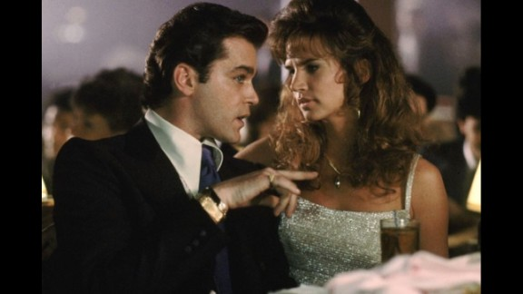 """Writing about """"Goodfellas,"""" Ebert said, """"No finer film has ever been made about organized crime -- not even"""